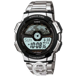 Casio Collection AE-1100WD-1A Digital Acero