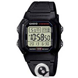 Casio Collection W-800H-1A Digital
