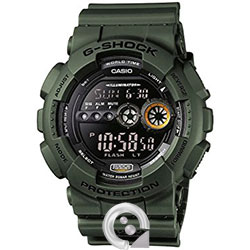 Casio G-SHOCK GD-100MS-1 Verde Militar