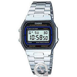 Casio Collection A-164WA-1V Plateado