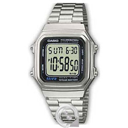 Casio Collection A-178WEA-1A Plateado