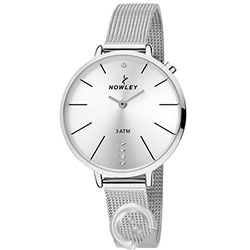 Nowley 1Chic Mujer Plateado 8-5747-0